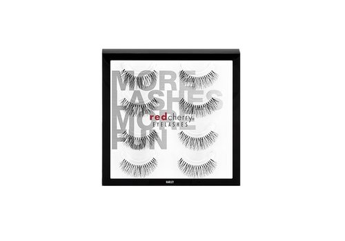 Red Cherry 4Pack Lashes Harley
