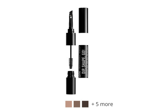 NYX Professional Makeup Dip, Shape, Go! Longwear Brow Pomade