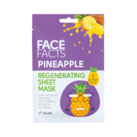Face Facts Printed Sheet Mask Pineapple