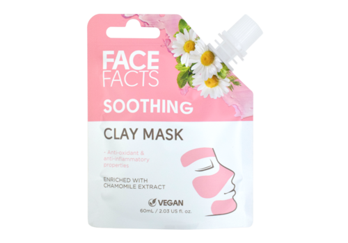 Face Facts Clay Mud Mask Soothing