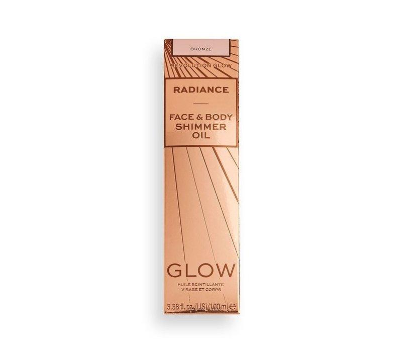 Makeup Revolution Radiance Shimmer Oil Bronze