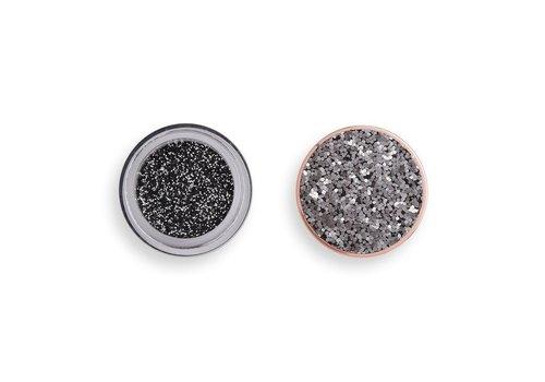 Makeup Revolution Viva Glitter Body Balm Blackout