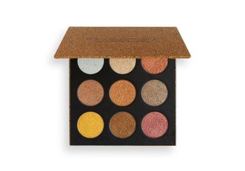 Makeup Revolution Euphoric Foil Palette Sparkle Up
