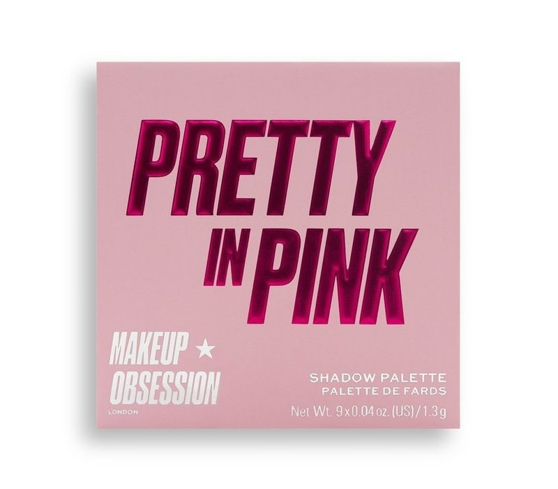 Makeup Obsession Pretty In Pink Eyeshadow Palette