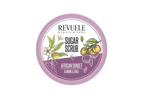 Revuele Sugar Scrub African Sunset Almond & Shea
