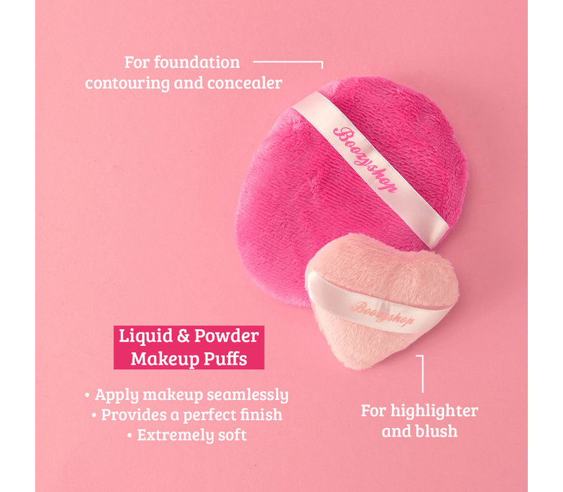 Boozyshop Liquid and Powder Makeup Puffs