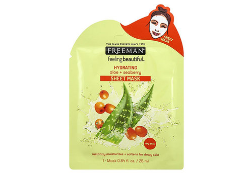 Freeman Sheet Mask Hydrating Aloe + Seaberry