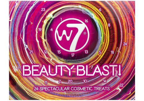 W7 Cosmetics Beauty Blast Advent Calender