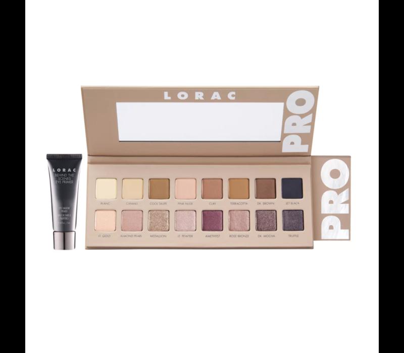Lorac Pro Eyeshadow Palette 3 With Mini Eye Primer
