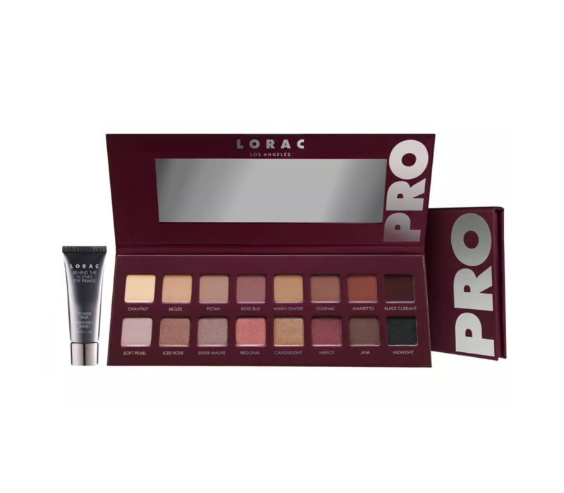 Lorac Pro Eyeshadow Palette 4 With Mini Eye Primer