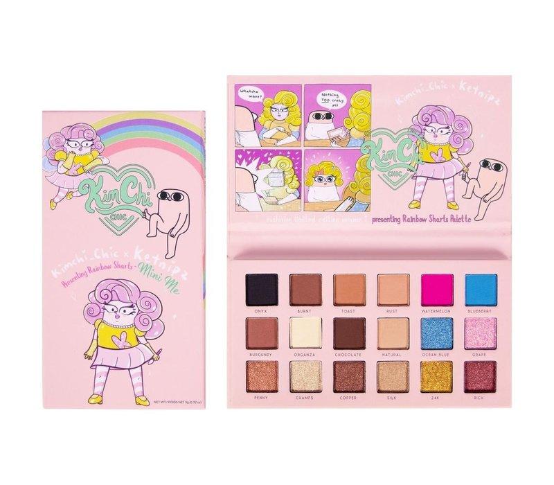 KimChi Chic Beauty Mini Rainbow Sharts Palette