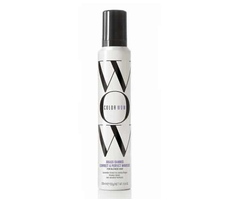 Color Wow Color Control Purple Toning and Styling Foam