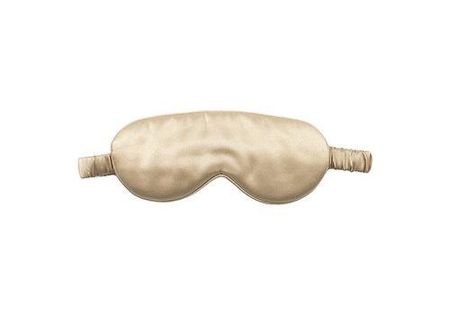 Beauty Pillow Luxury Silk Mask Champagne