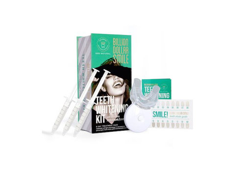 Billion Dollar Smile LED Teeth Whitening Kit