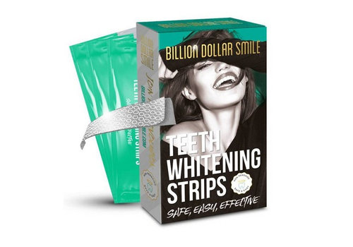 Billion Dollar Smile Teeth Whitening Strips