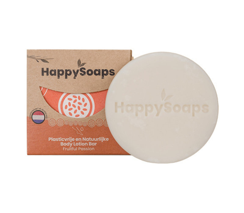 HappySoaps Body Lotion Bar Fruitful Passion