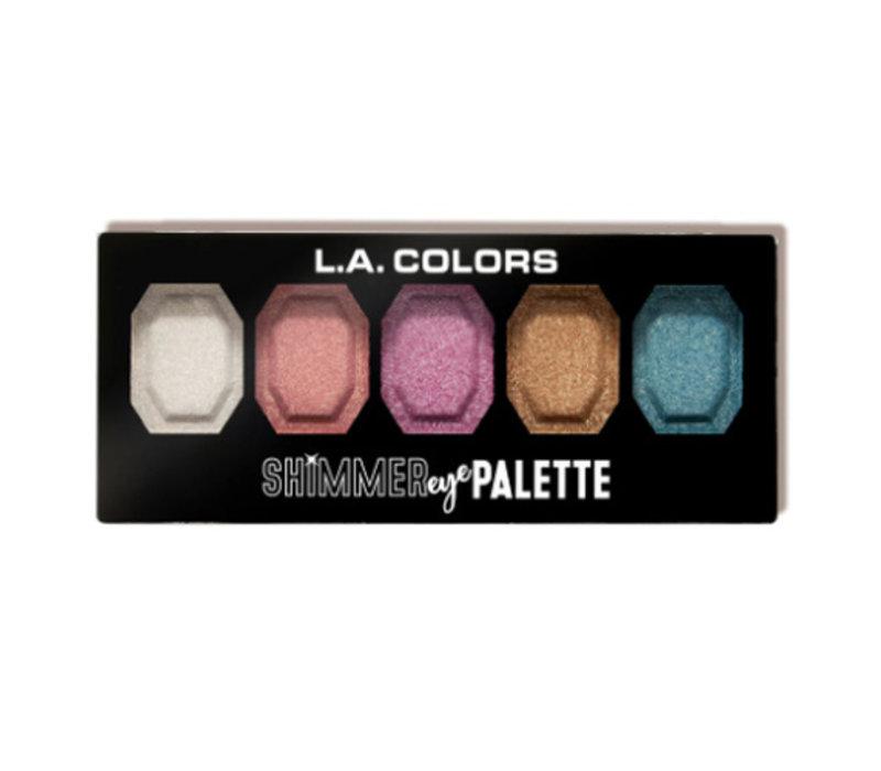 LA Colors Shimmer Eye Palette Shine On