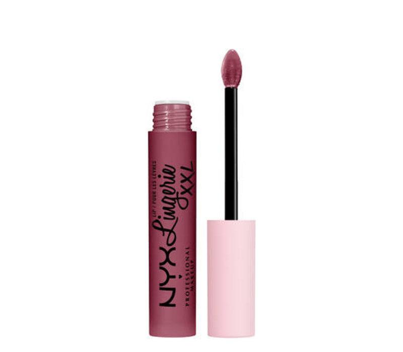 NYX Professional Makeup Lip Lingerie XXL Matte Liquid Lipstick Bust Ed