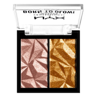 NYX Professional Makeup Born to Glow Icy Highlighter Duo Rock Candy
