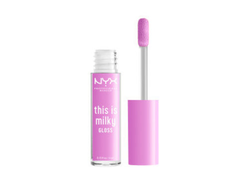 NYX Professional Makeup This is Milky Gloss Lilac Splash