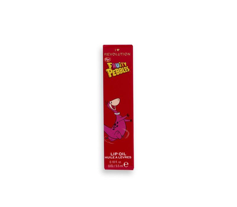 I Heart Revolution x Fruity Pebbles Lip Oil Dino