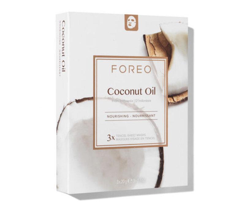 Foreo Farm To Face Sheet Masks Coconut Oil
