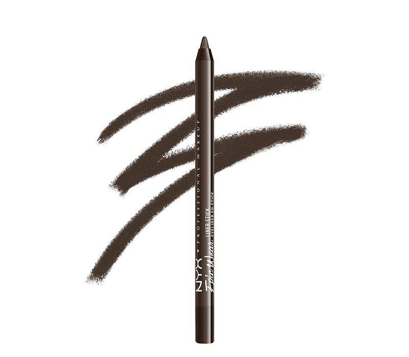 NYX Professional Makeup Epic Wear Liner Sticks Deepest Brown