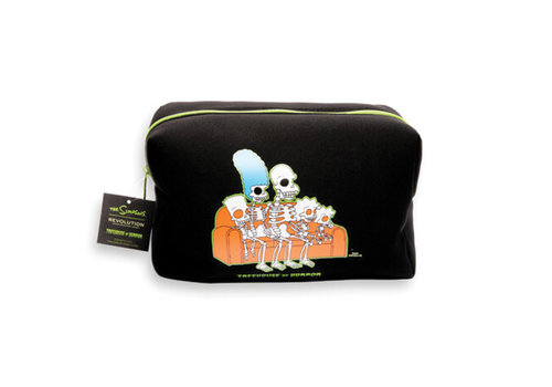 Makeup Revolution x The Simpsons Treehouse Of Horror Collection Couch Bag