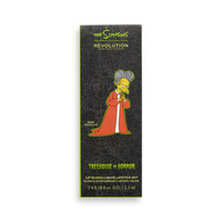 Makeup Revolution x The Simpsons Treehouse Of Horror Collection Lip Kit Yes, I Am A Vampire