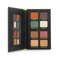 Makeup Revolution x The Simpsons Treehouse Of Horror Collection Seriously Scary Shadow Palette Maggie The Alien