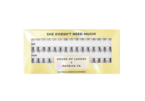 House of Lashes x Patrick Ta She Doesn't Need Much Lashes