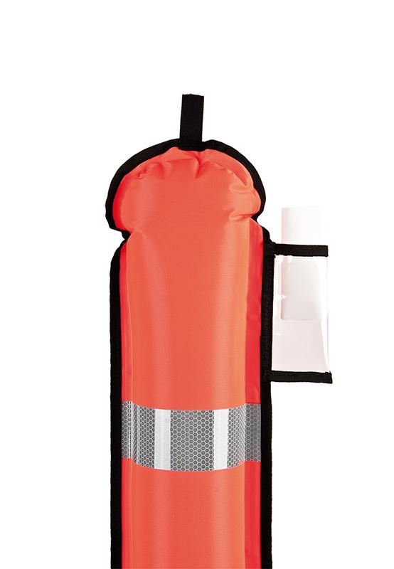 DSMB gesloten Oranje 140cm-2