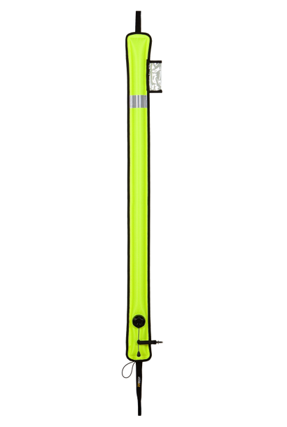 Gesloten DSMB Smal geel 140cm