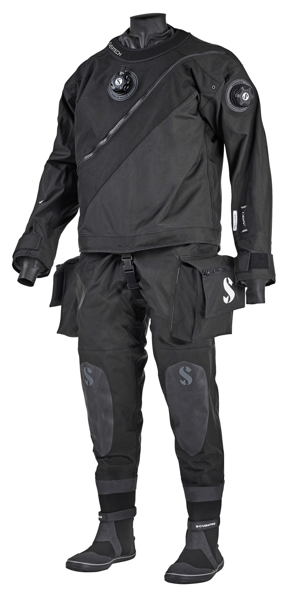 Evertech Breathable Heren droogpak-1