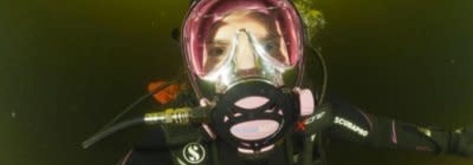 PADI Full Face masker specialty