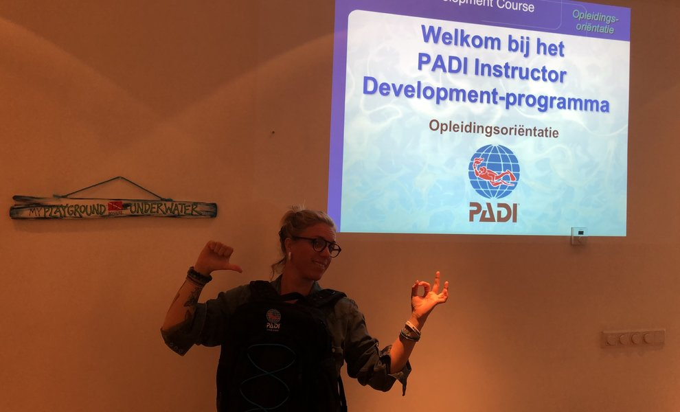 PADI IDC doen in Nederland