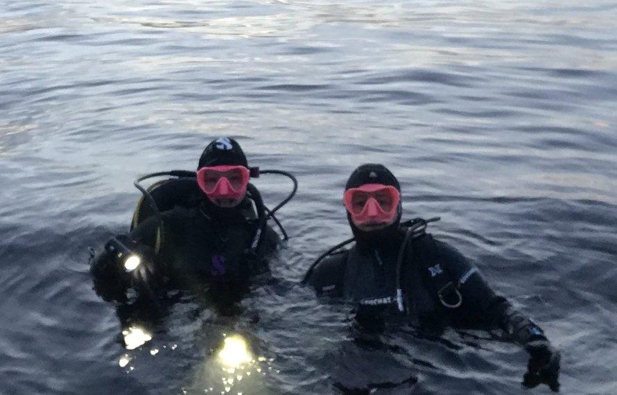 Winter duikcursussen, blijf actief met duiken.