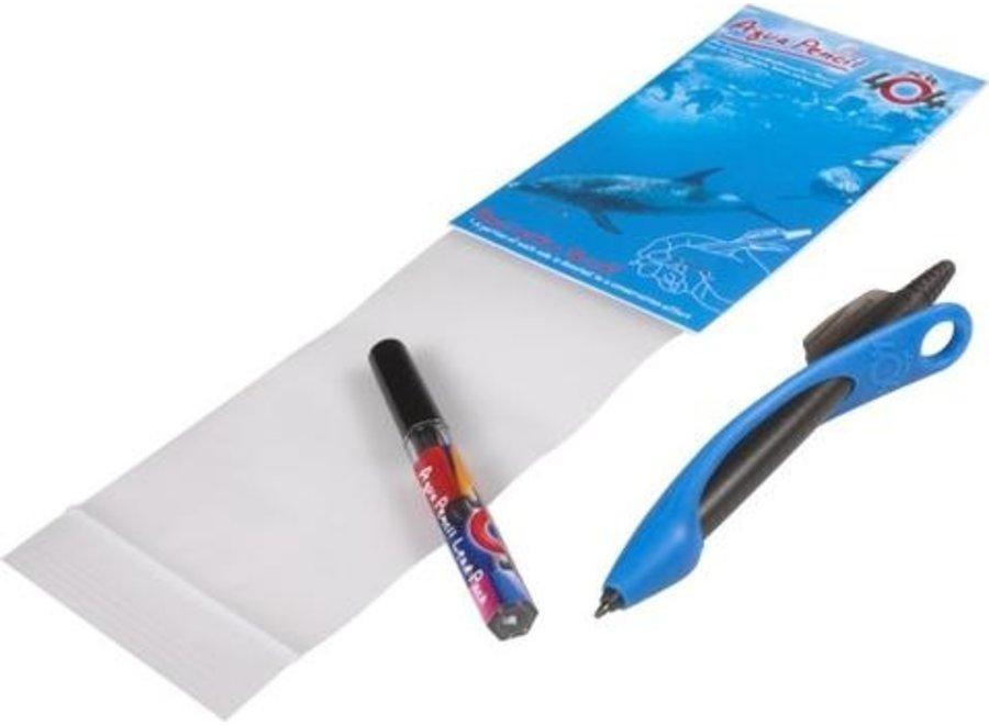 Aqua Pencil het onderwater potlood