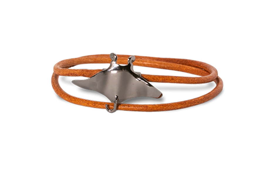 Manta rog met bruine armband Oxidated