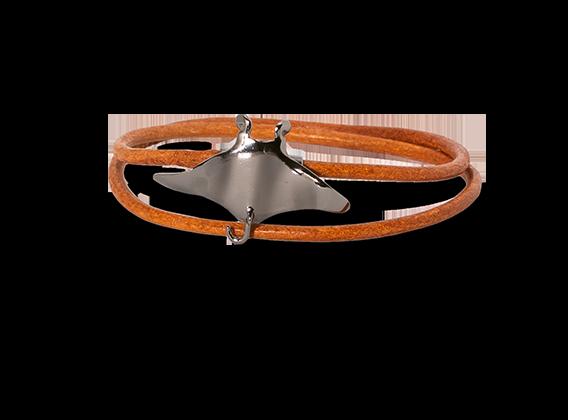 Manta rog met bruine armband Oxidated-1