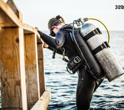 Backmount Wings, recreatief duiken met een wing? Dat start met XDEEP