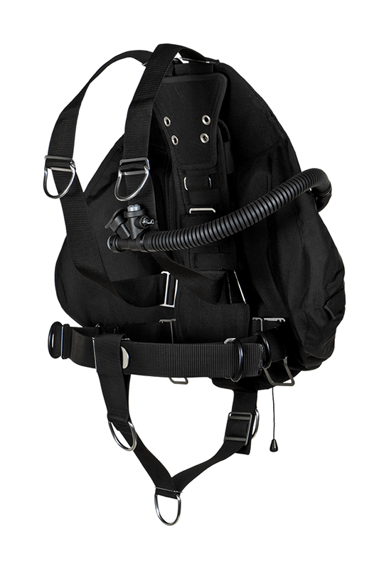 Stealth 2.0 Sidemount wing TEC-3