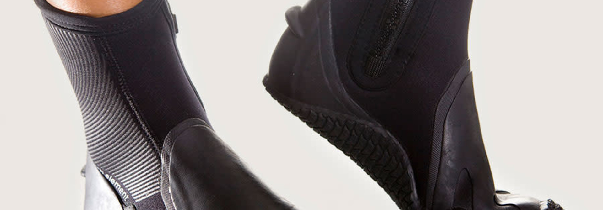 Pelagic 6,5mm Boot - Rubberen zool