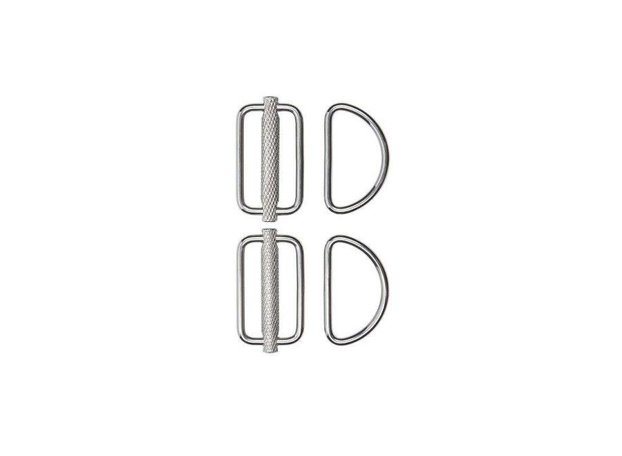 Stealth 2.0 Slidable D-Ring Kit (paar)