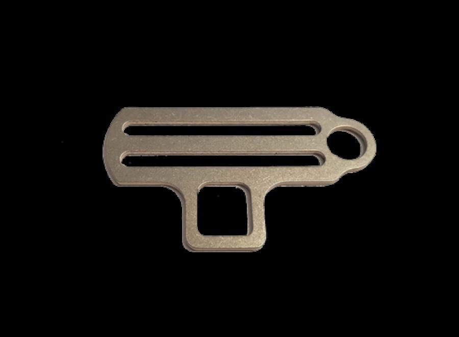 Sidemount Bungee tri-glide 1 oog/torch houder