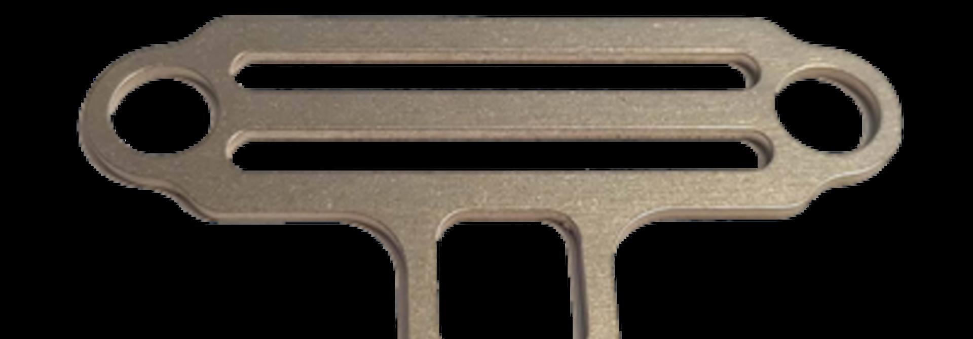 Sidemount Bungee tri-glide 2 ogen/torch houder