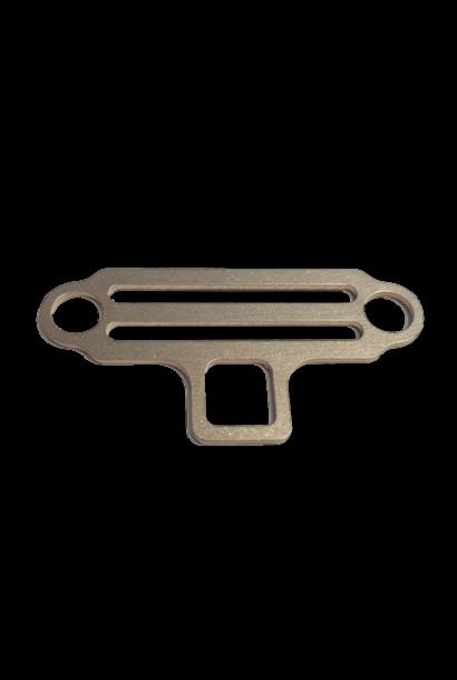 Sidemount Bungee tri-glide 2 ogen/lamp houder