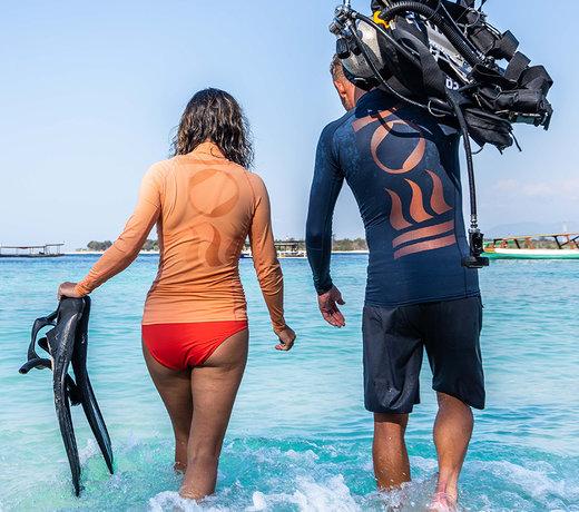 Ocean Positive Hydroskin Rash Guards