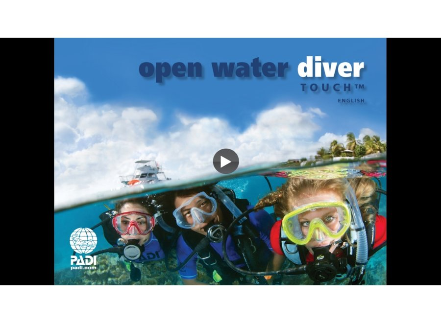 eLearning - Open Water Diver cursus