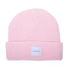 May Sparkle Beanie roze gebruik code: gift